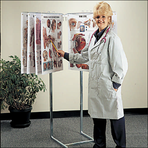 Space-Saver Floor Display Stand