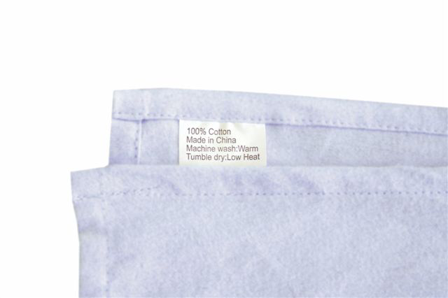Sheet Set Care Label