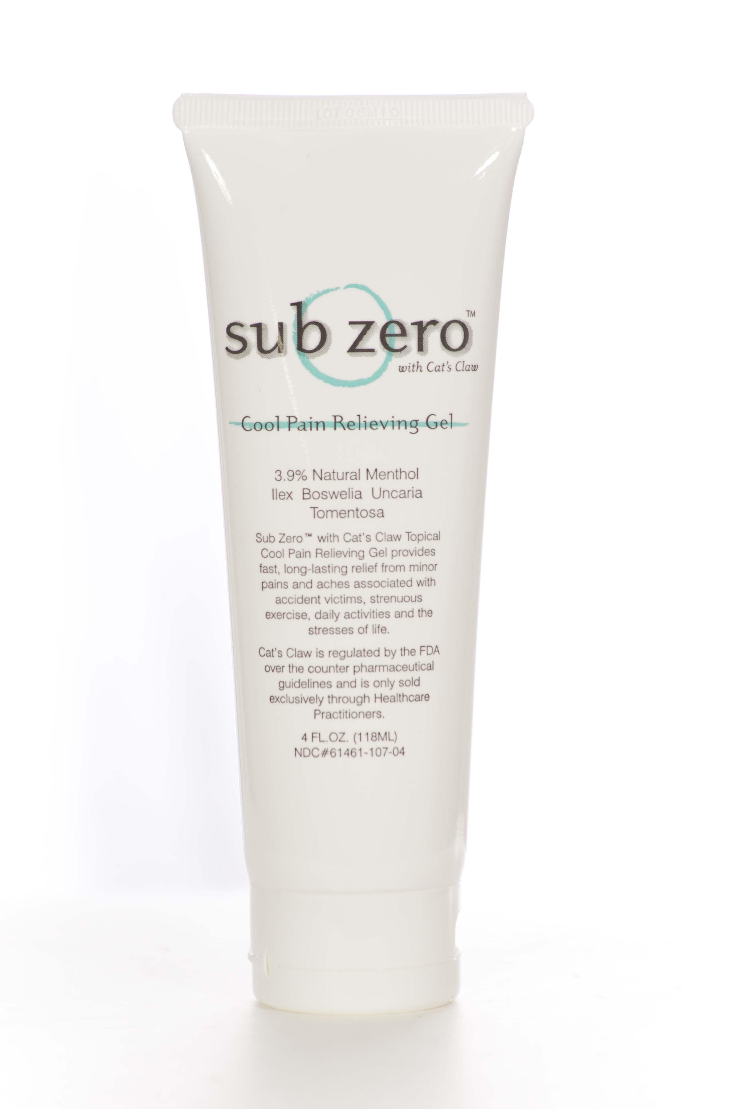 Sub Zero w/Cats Claw 4oz Tube