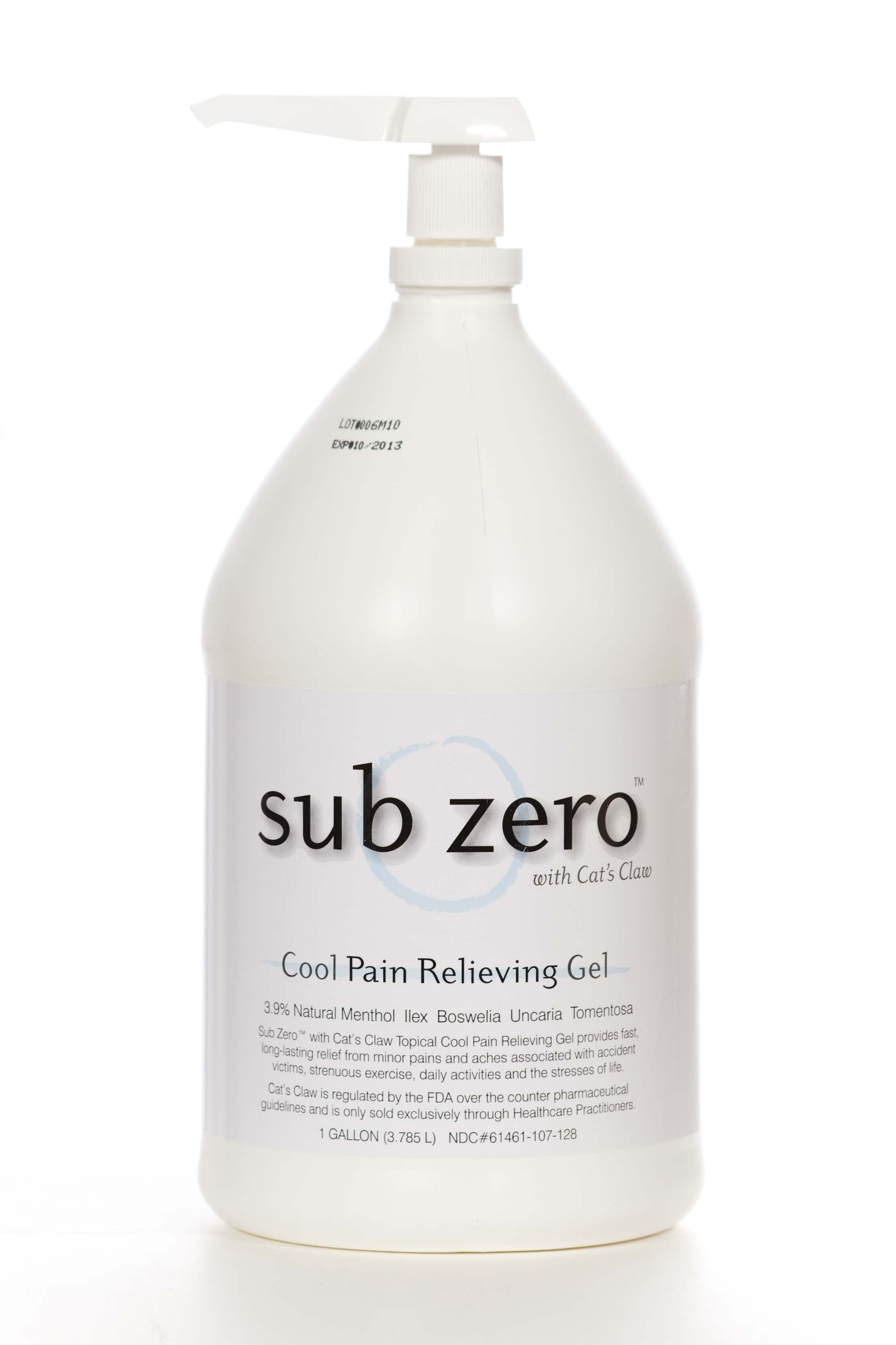 Sub Zero w/Cat's Claw Gallon W/ Pump