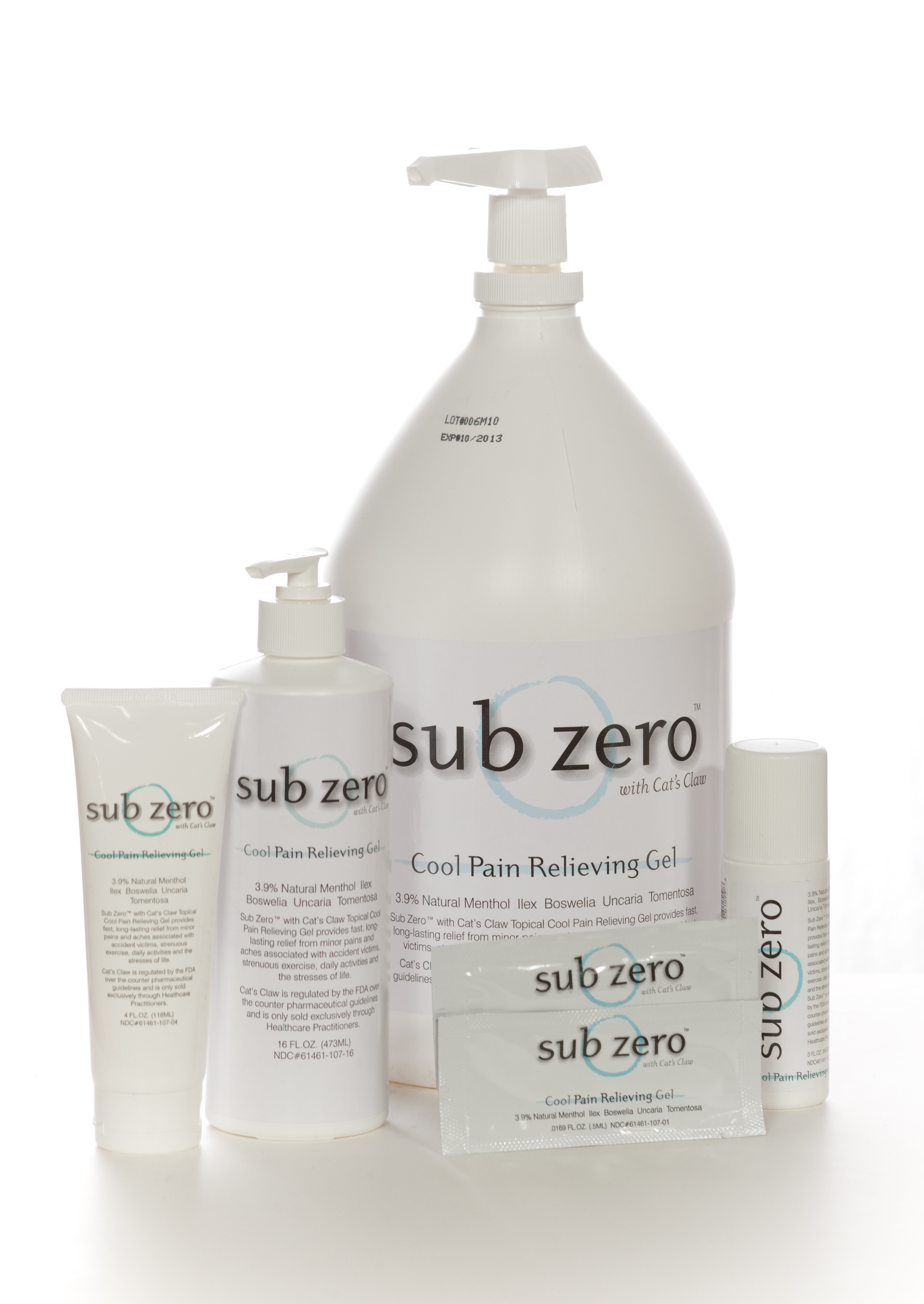 Sub Zero with Cat's Claw - Tube or Roll-On
