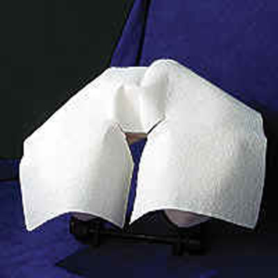 Deluxe Disposable Face Rest Covers - 100 pack