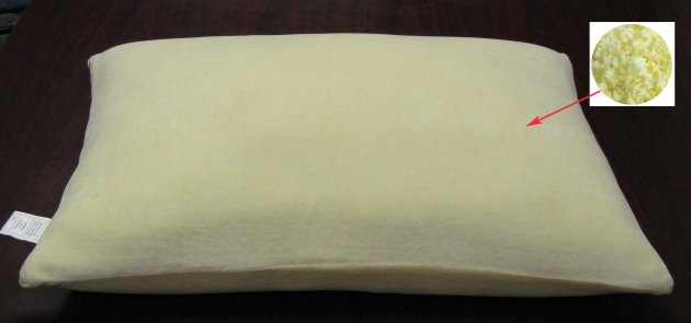Memory Foam Chip, Comfort Pillow