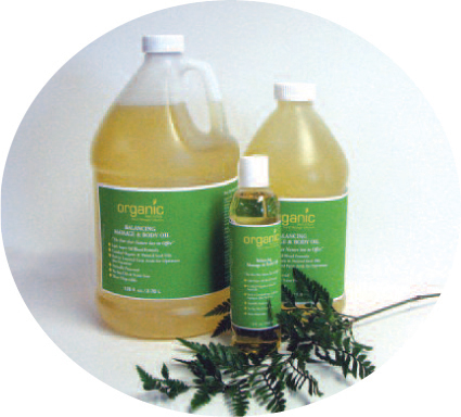 Balancing Massage Oil - 1/2 Gallon