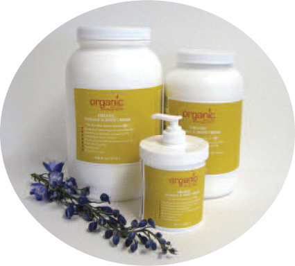 Organic Massage Cream - 1/2 Gallon