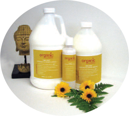 Organic Massage Lotion - 1/2 Gallon