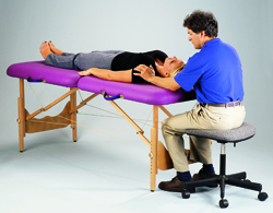 Pisces Productions New Wave II Hardwood Neck Massage Demo