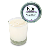 Soy Candle - Refreshing (rosemary) - 7oz Glass Jar
