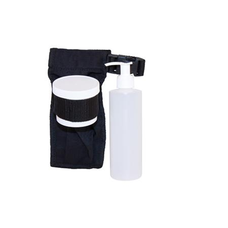 Hold All Holster w/ 8oz bottle, pump, & 4oz jar
